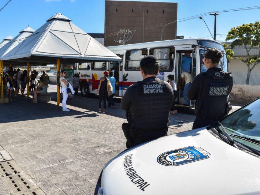 Operação Terminal Seguro contribui para a redução de 80% dos assaltos a ônibus na capital