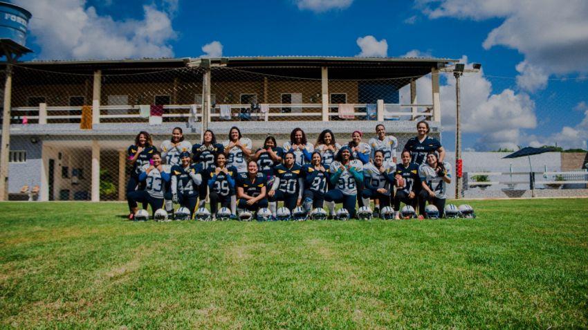 Equipe de futebol americano realiza recrutamento em Aracaju