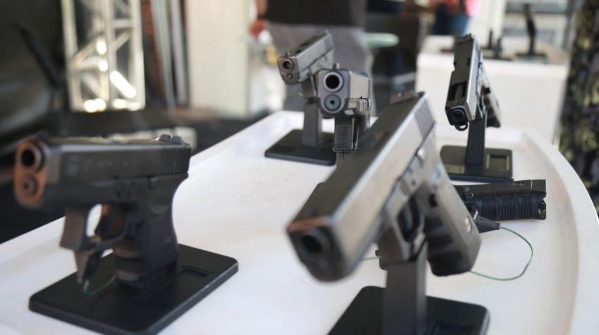 Governo do Estado promove  entrega de 400 novas pistolas Glock às polícias Militar e Civil