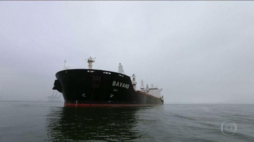 Petrobras diz que não abasteceu navios iranianos parados no PR devido a sanções dos EUA
