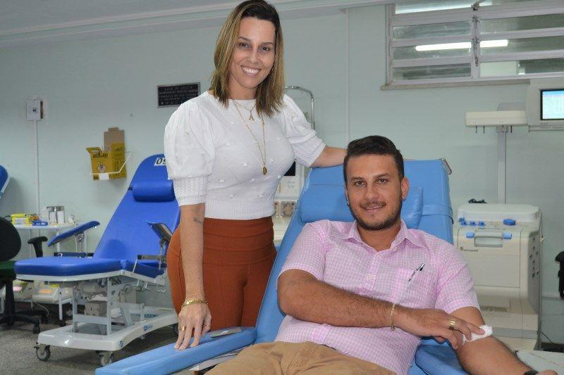 Funcionários solidários colaboram com estoques de sangue do Hemose