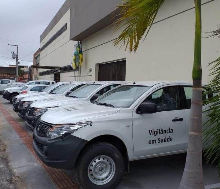 Sergipe recebe caminhonetes para combate às arboviroses