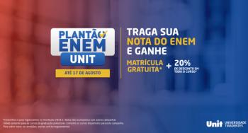 Unit oferta plantão Enem até este dia 17