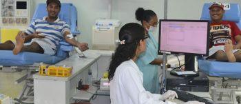 Hemocentro de Sergipe encerra agosto com 2.058 doações de sangue
