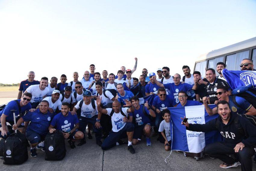 Diretoria do Confiança reconhece empenho da Prefeitura para acesso à série B do Brasileiro