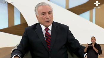 'Eu jamais apoiei ou fiz empenho pelo golpe', diz Temer sobre impeachment
