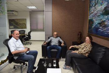 Edvaldo se reúne com senadora Maria do Carmo para discutir emendas para Aracaju