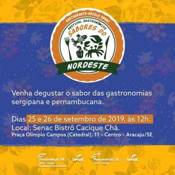 Sergipe receberá Festival 'Sabores do Nordeste'