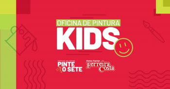 'Festival Pinte o Sete' promove oficina para crianças