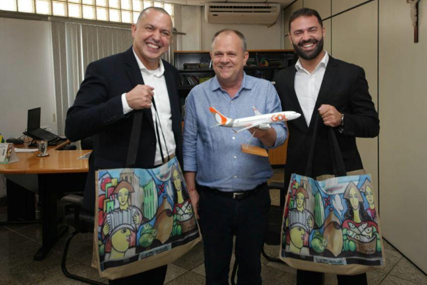 Governo do Estado e Gol Linhas Aéreas assinam acordo que garante novos voos para Sergipe