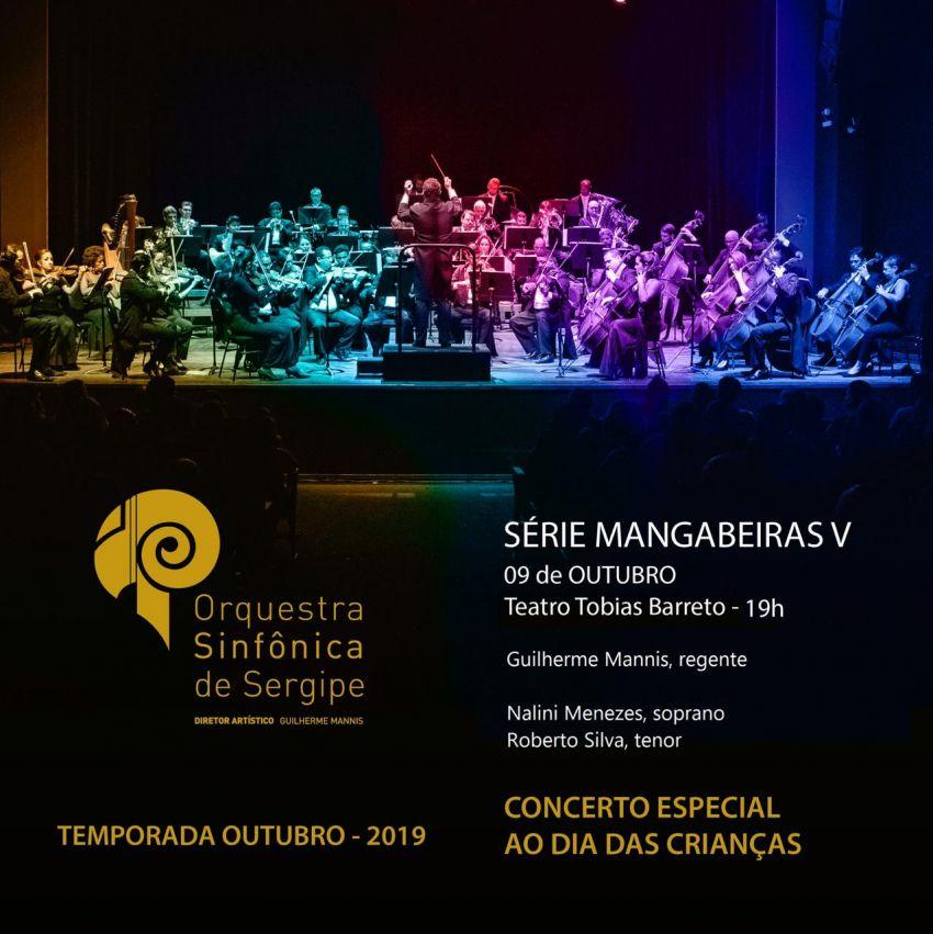 Orsse apresenta Concerto da Criança no Teatro Tobias Barreto
