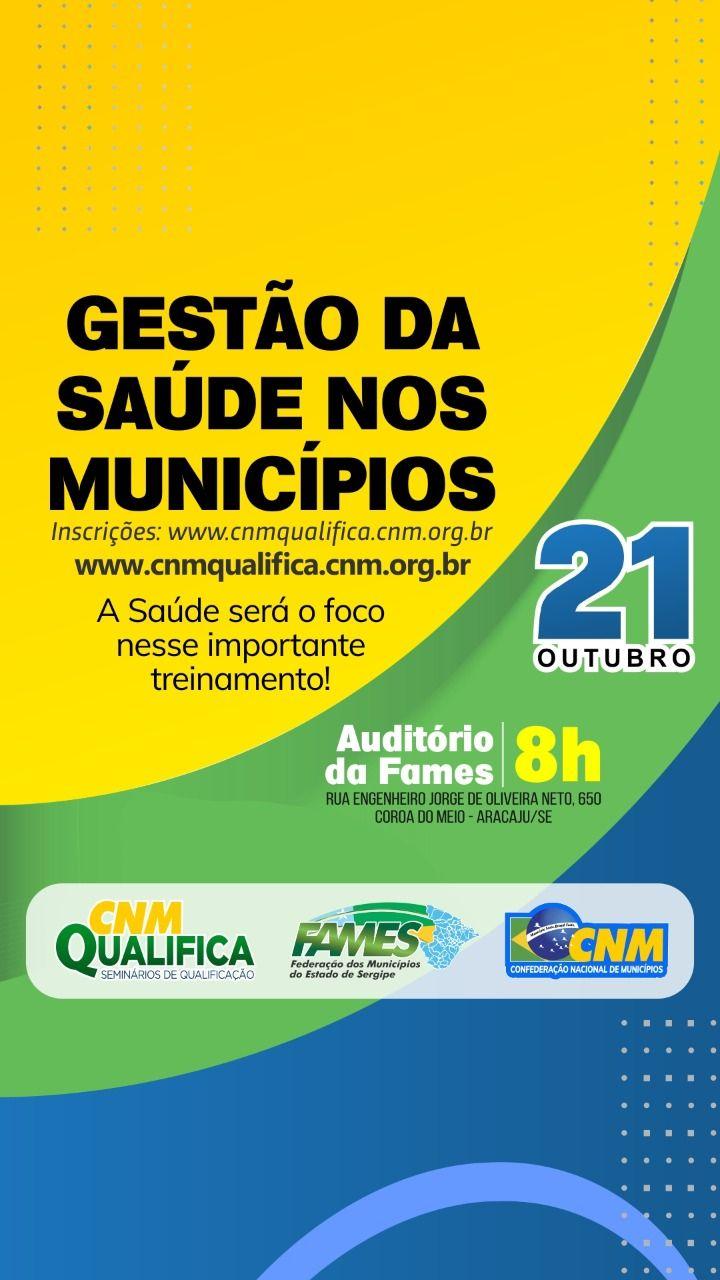 Treinamento para gestão da saúde nos municípios será realizado pela FAMES