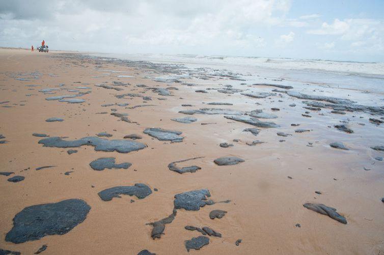 Ibama e Marinha dizem que ineditismo afeta contenção de óleo em praias