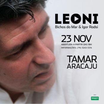 Show de Leoni é adiado para o dia 23 de novembro