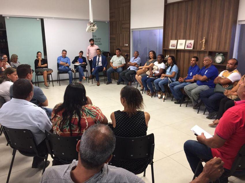 Senador Alessandro Vieira realiza reunião entre as colônias de pescadores de Sergipe e a SEAGRI