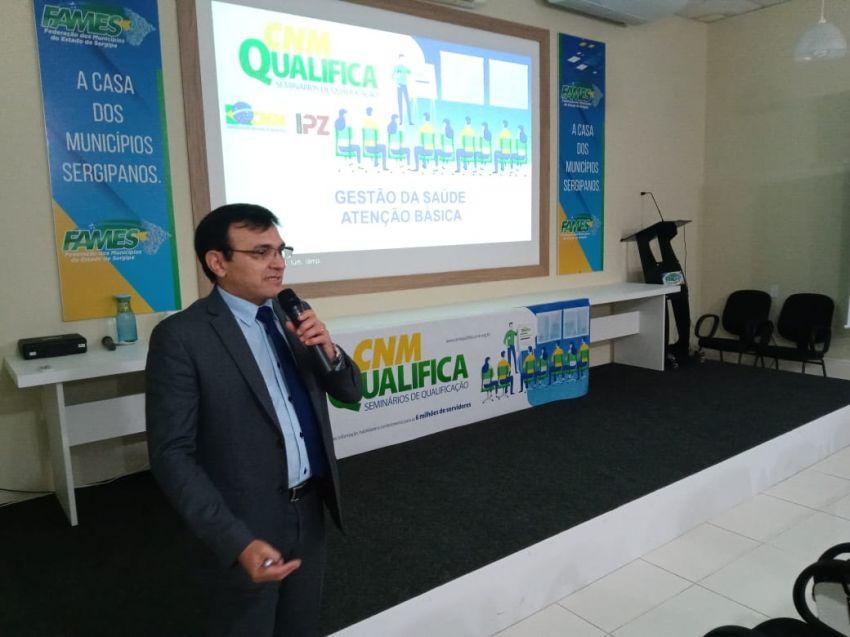 Fames promove treinamento para gestão da saúde nos municípios