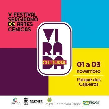 Virada Cultural promete agitar o final de semana em Aracaju