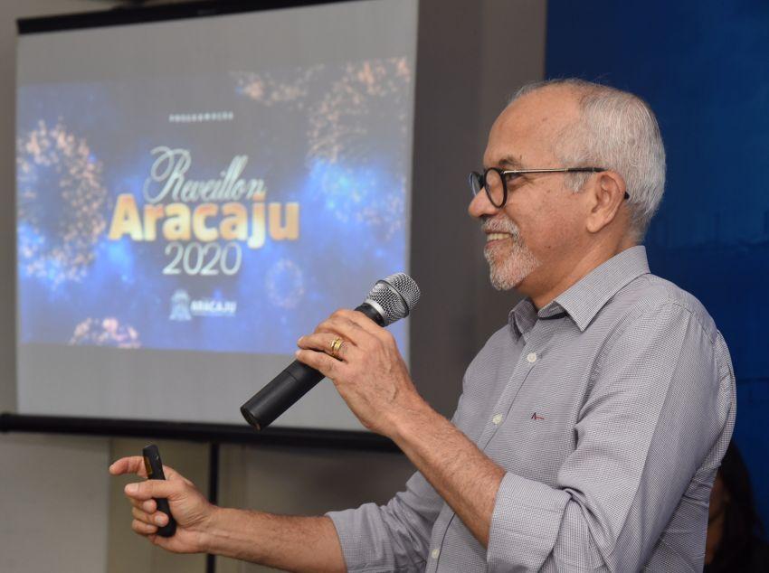 Prefeito anuncia atrações do Réveillon de Aracaju