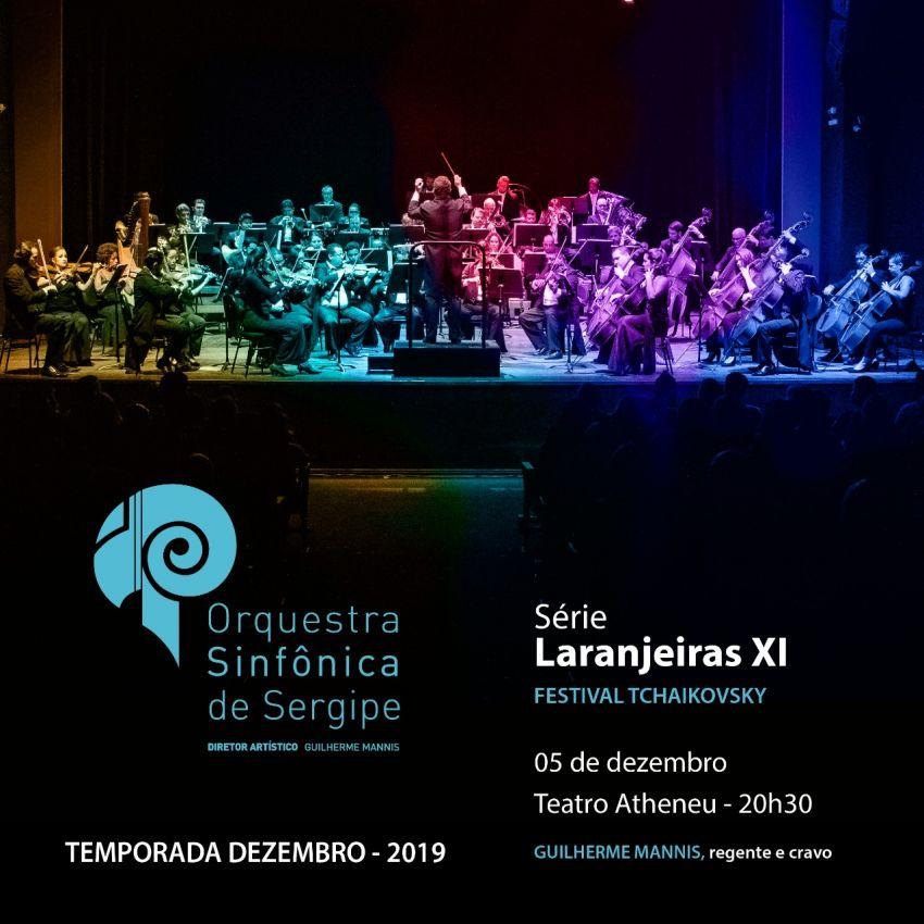 Orsse apresenta Festival Tchaikovsky em Série Laranjeiras, no Teatro Atheneu