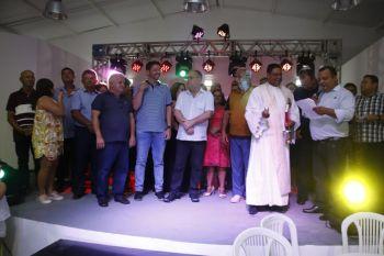 Em Santa Rosa de Lima, Belivaldo entrega reforma do Centro de Eventos Janoca Barreto de Lima