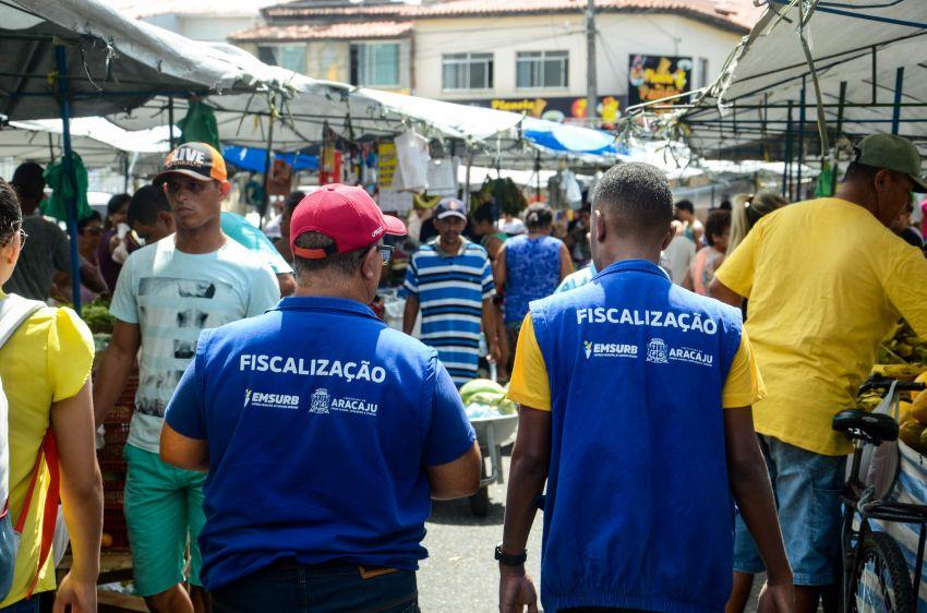 Fiscalização de feiras livres da capital agrada comerciantes e consumidores