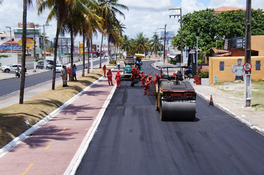 Recapeamento asfáltico: trânsito nas avenidas em obras continua com interdições na segunda, 20