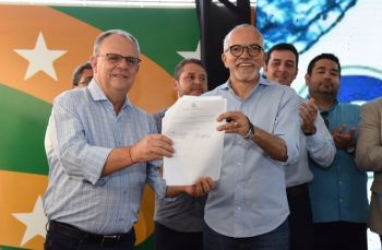 Prefeitura e Governo assinam renovação e ampliação do convênio com a Deso em Aracaju