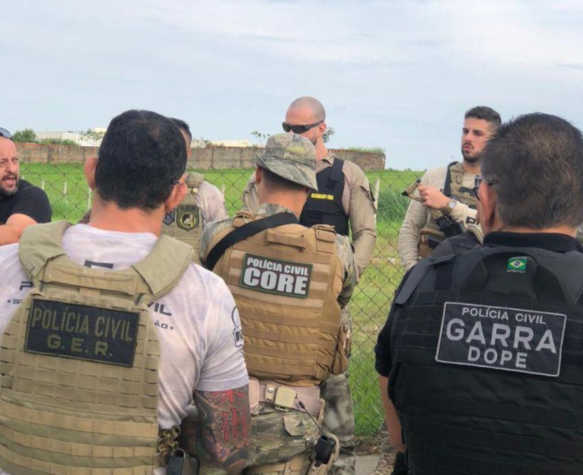 Polícia Civil realiza operação para prender integrantes de organização criminosa em PE e SP