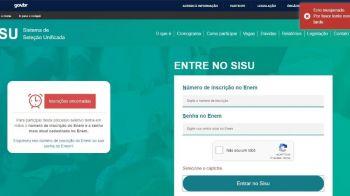 Sisu registra 2,5 milhões de inscrições