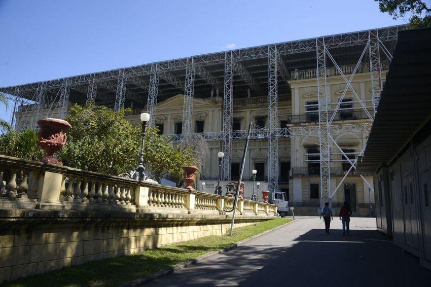 Obras no Museu Nacional começam em abril