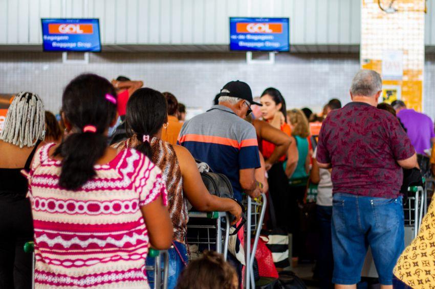 Cresce número de passageiros no aeroporto de Aracaju em janeiro