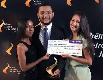 Acadêmicos da UNIT se destacam em mais uma edição do prêmio Setransp de Jornalismo