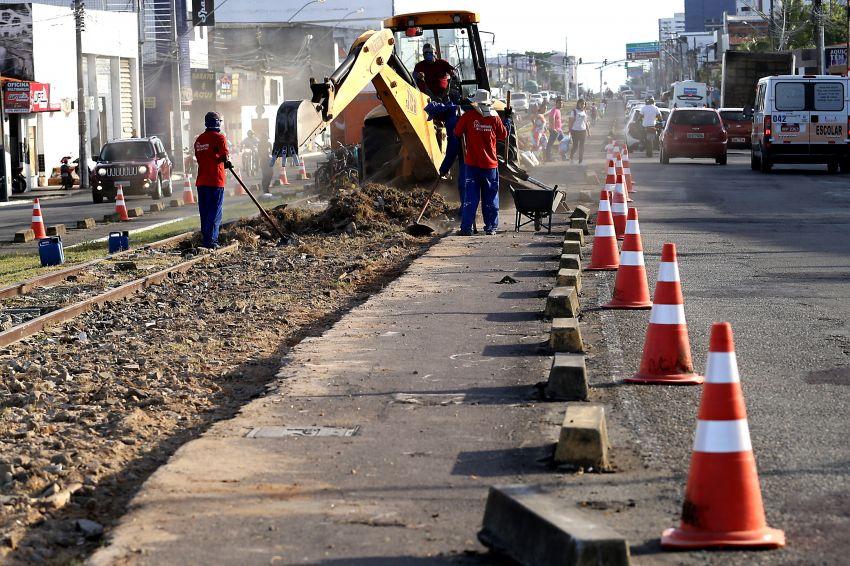 Recapeamento asfáltico: vias em obras continuam com interdições no trânsito nesta quarta, 19