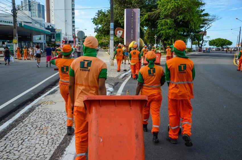 Prefeitura reforça a importância do descarte correto de lixo no carnaval
