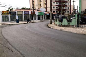 Em fase final, obra na Nestor Sampaio agrada moradores e frequentadores da via