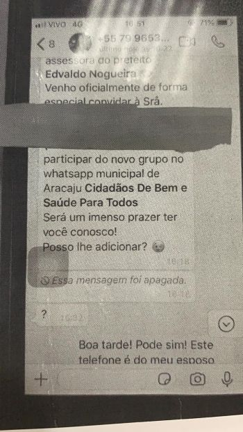 Bloco 3 Polícia Novo golpe usa período eleitoral para convidar usuários e clonar dados de WhatsApp