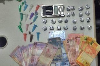 Polícia Militar prende homem por suspeita de tráfico de drogas na Rodoviária Velha