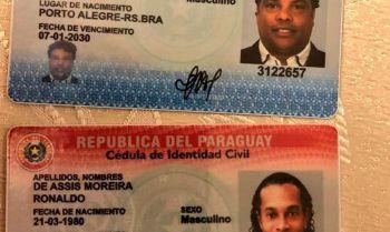 Autoridades paraguaias mantém prisões de Ronaldinho e de seu irmão