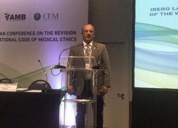 Diretor de Saúde da Unit representa Sergipe em Conferência da WMA