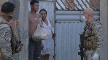 Polícia Civil recebe doação de mais 300 cestas básicas e já distribui a trabalhadores que tiveram perda na renda família