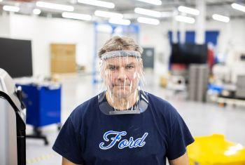 Ford vai produzir em suas fábricas no Brasil e na Argentina máscaras de proteção facial no combate ao coronavírus