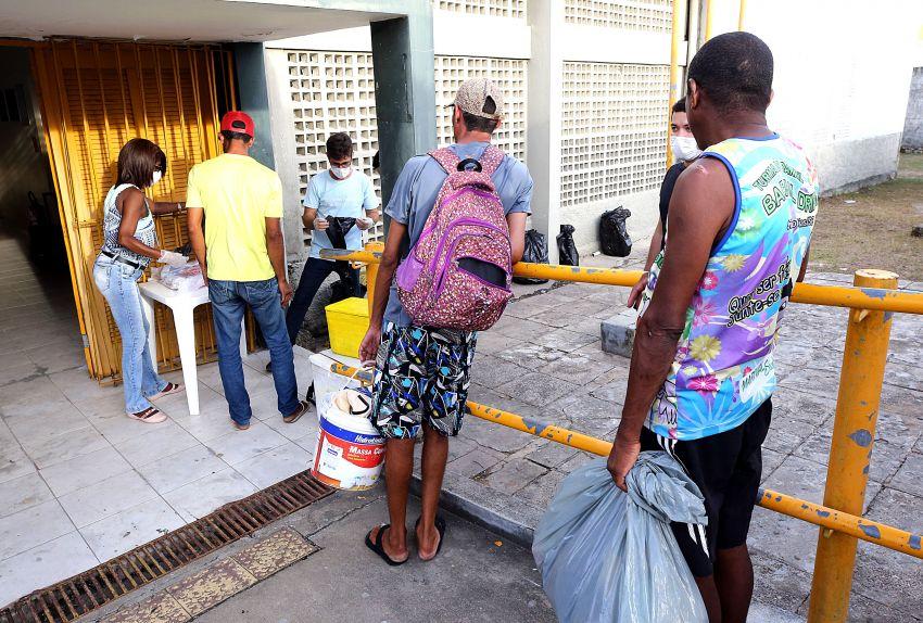 Prefeitura assegura cuidados à prevenção do coronavírus a pessoas em situação de rua