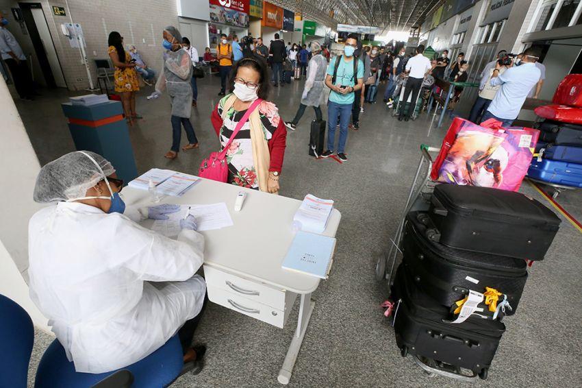 Passageiros reconhecem importância do monitoramento realizado pela Prefeitura no aeroporto