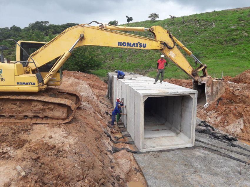 Obra de recuperação da Rodovia Itabaiana/Itaporanga segue avançada
