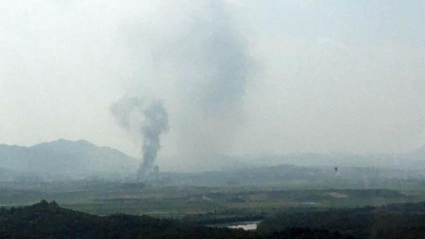 Coreia do Norte explode escritório de ligação com Coreia do Sul