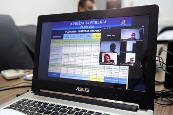 Prefeitura detalha diretrizes orçamentárias em audiência virtual da Câmara de Aracaju