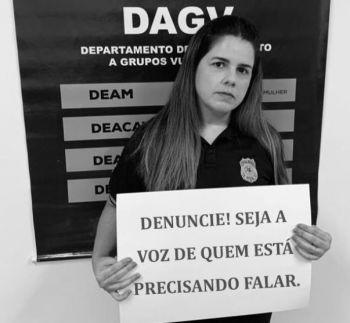 DAGV lança campanha e alerta para subnotificação de violência doméstica