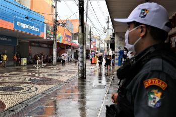 Polícia Militar intensifica policiamento no Centro Comercial de Aracaju