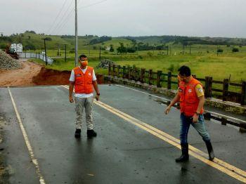 Governo realiza vistorias em cidades mais afetadas pelas chuvas