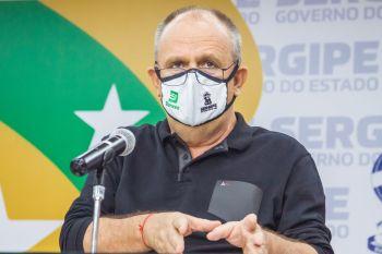 Retomada da economia está sendo feita com cautela, diz Belivaldo Chagas